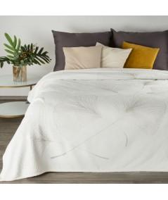 Koc pluszowy Ginko 1 150x200 biały