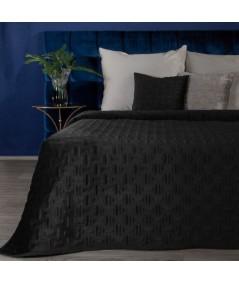 Narzuta velvet Ria 3 220x240 czarna