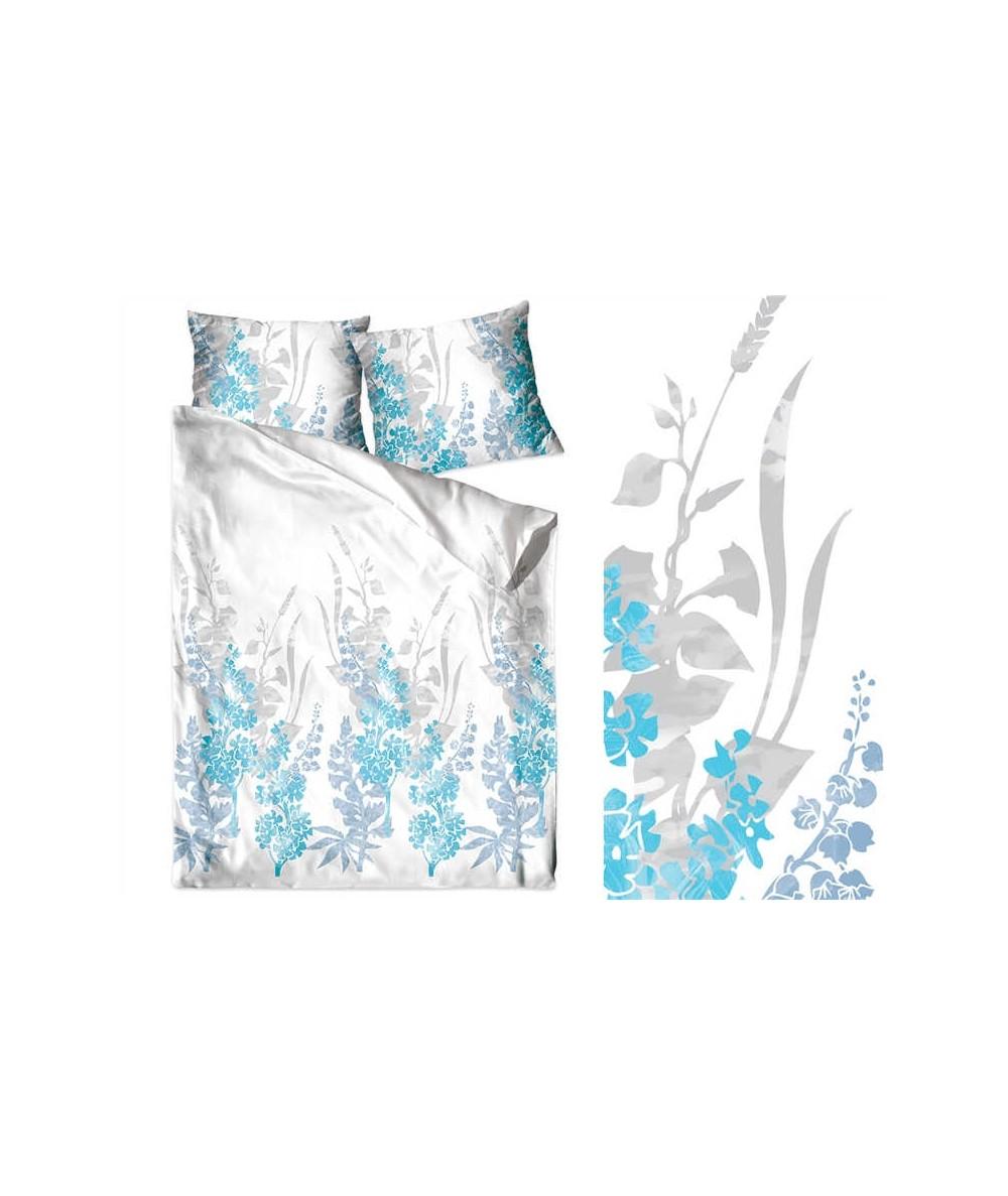 Pościel bawełna Bielbaw  z zamkiem Kim blue GRENO