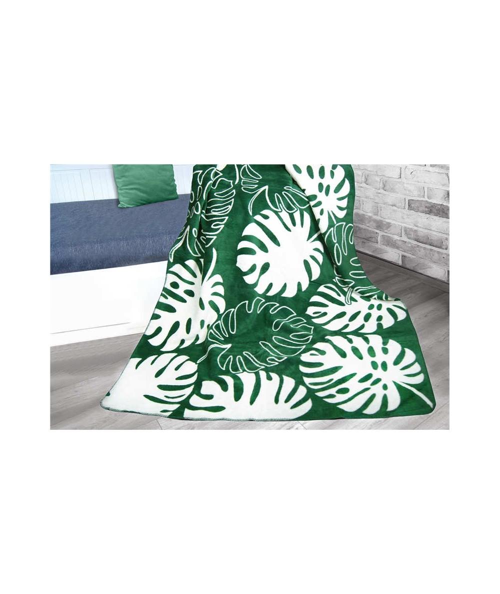 Polski koc bawełniany Glamour 150x200 Verde GRENO