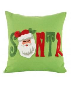 Poszewka Boże Narodzenie Nikolas 45x45 zielona