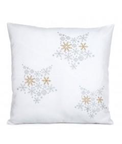 Poszewka Boże Narodzenie Alex 45x45 biała