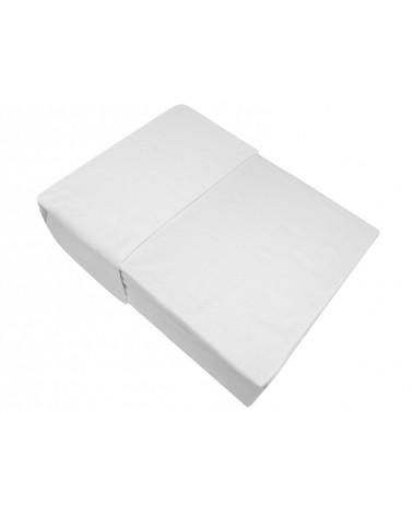 Prześcieradło flanela bawełniana Bielbaw 160x210 bez gumki białe