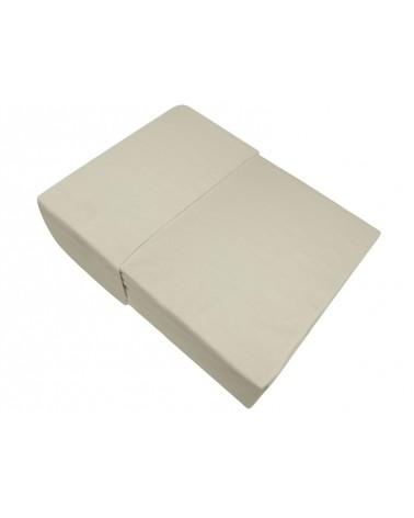 Prześcieradło flanela bawełniana Bielbaw 160x210 bez gumki kość słoniowa