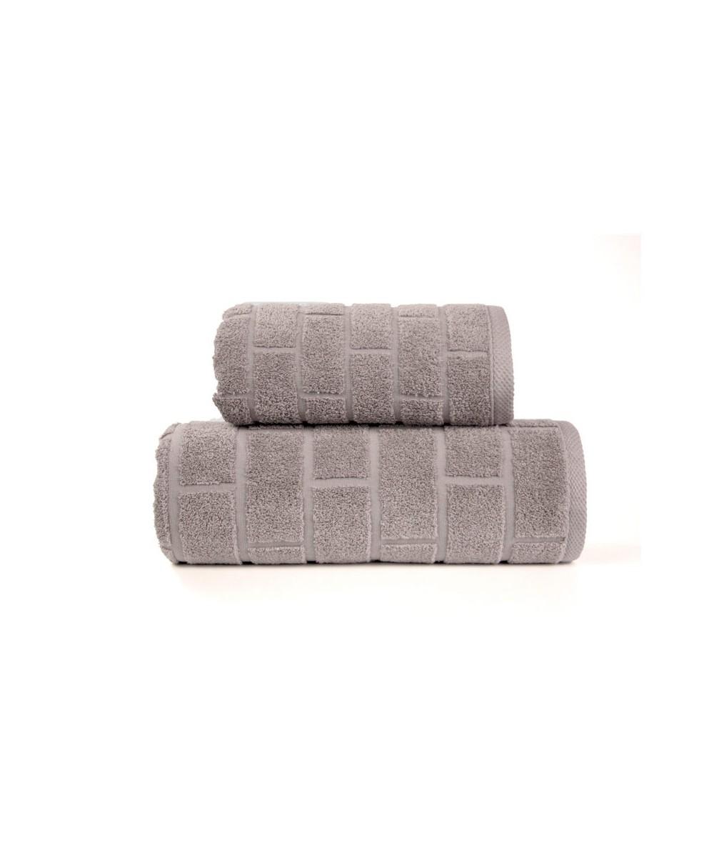 Ręcznik Brick mikrobawełna 70x140 Cafe GRENO