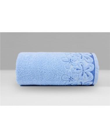 Ręcznik Bella mikrobawełna 30x50 błękitny