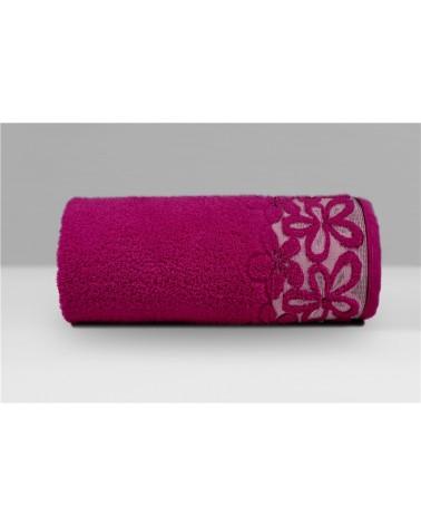 Ręcznik Bella mikrobawełna 30x50 fuksja