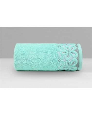 Ręcznik Bella mikrobawełna 30x50 miętowy
