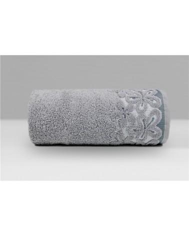 Ręcznik Bella mikrobawełna 30x50 popielaty