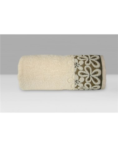 Ręcznik Bella mikrobawełna 70x140 kremowy
