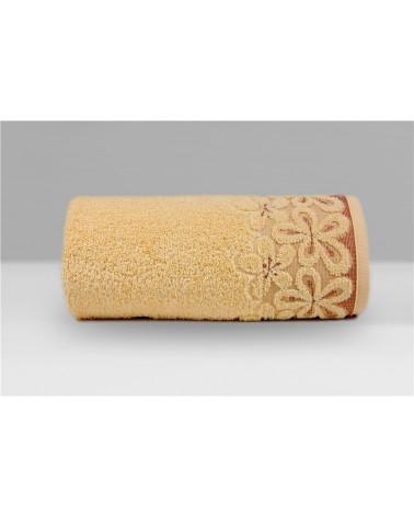 Ręcznik Bella mikrobawełna 70x140 morelowy