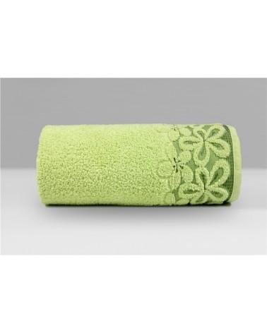 Ręcznik Bella mikrobawełna 70x140 pistacjowy