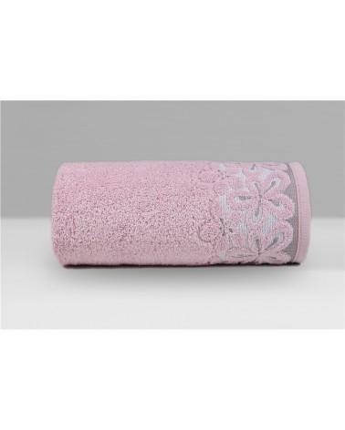 Ręcznik Bella mikrobawełna 70x140 różany