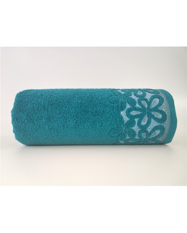 Ręcznik Bella mikrobawełna 70x140 szmaragd