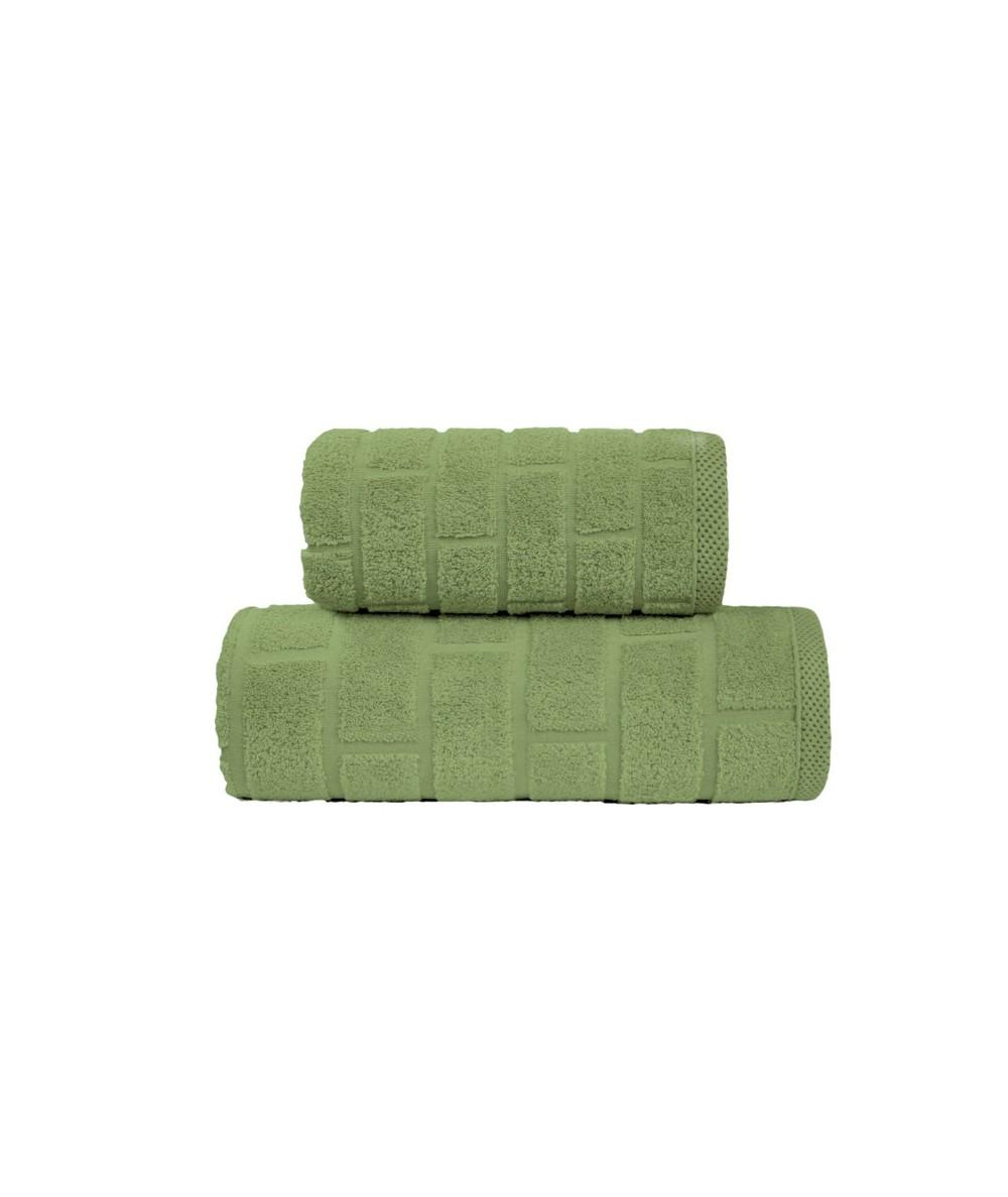 Ręcznik Brick mikrobawełna 70x140 Oliwkowy GRENO