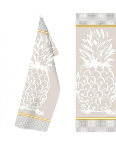 Ściereczka Kuchenna bawełna 50x70 Ananas 1