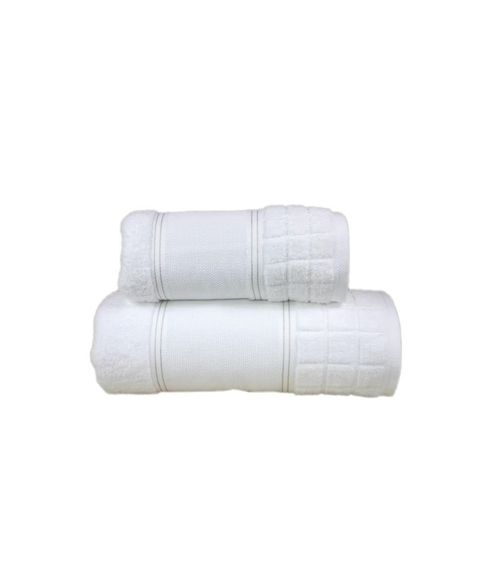 Ręcznik Special mikrobawełna 100x150 Biały GRENO
