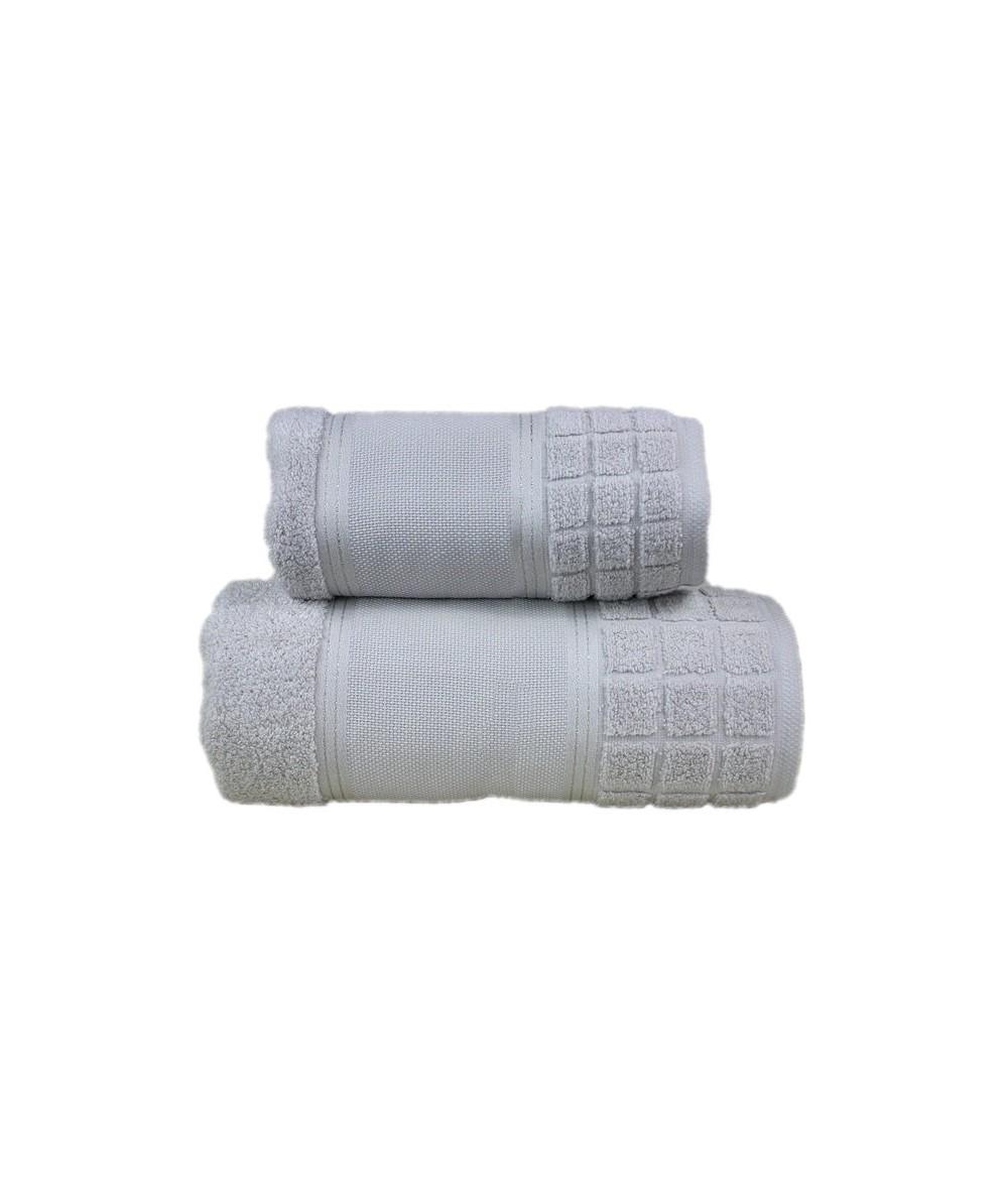 Ręcznik Special mikrobawełna 100x150 Stalowy GRENO