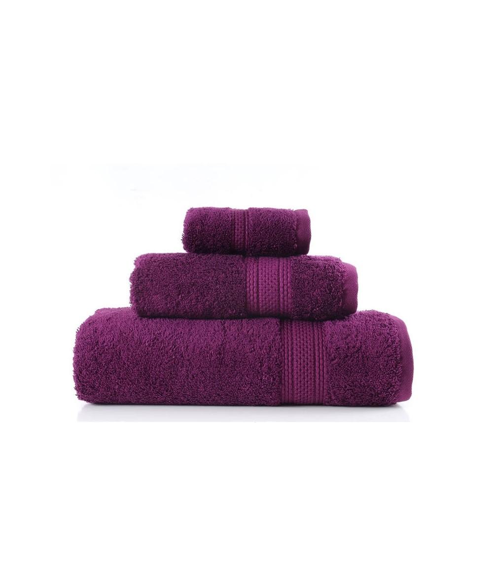 Ręcznik Egyptian Cotton bawełna egipska 50x90 Śliwkowy GRENO