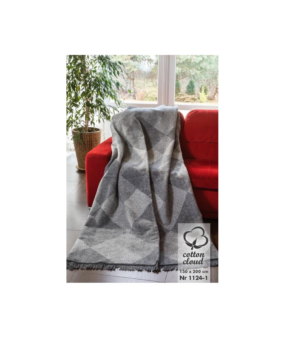 Polski koc bawełniany 150x200 Cotton Cloud Umipled 1024-1