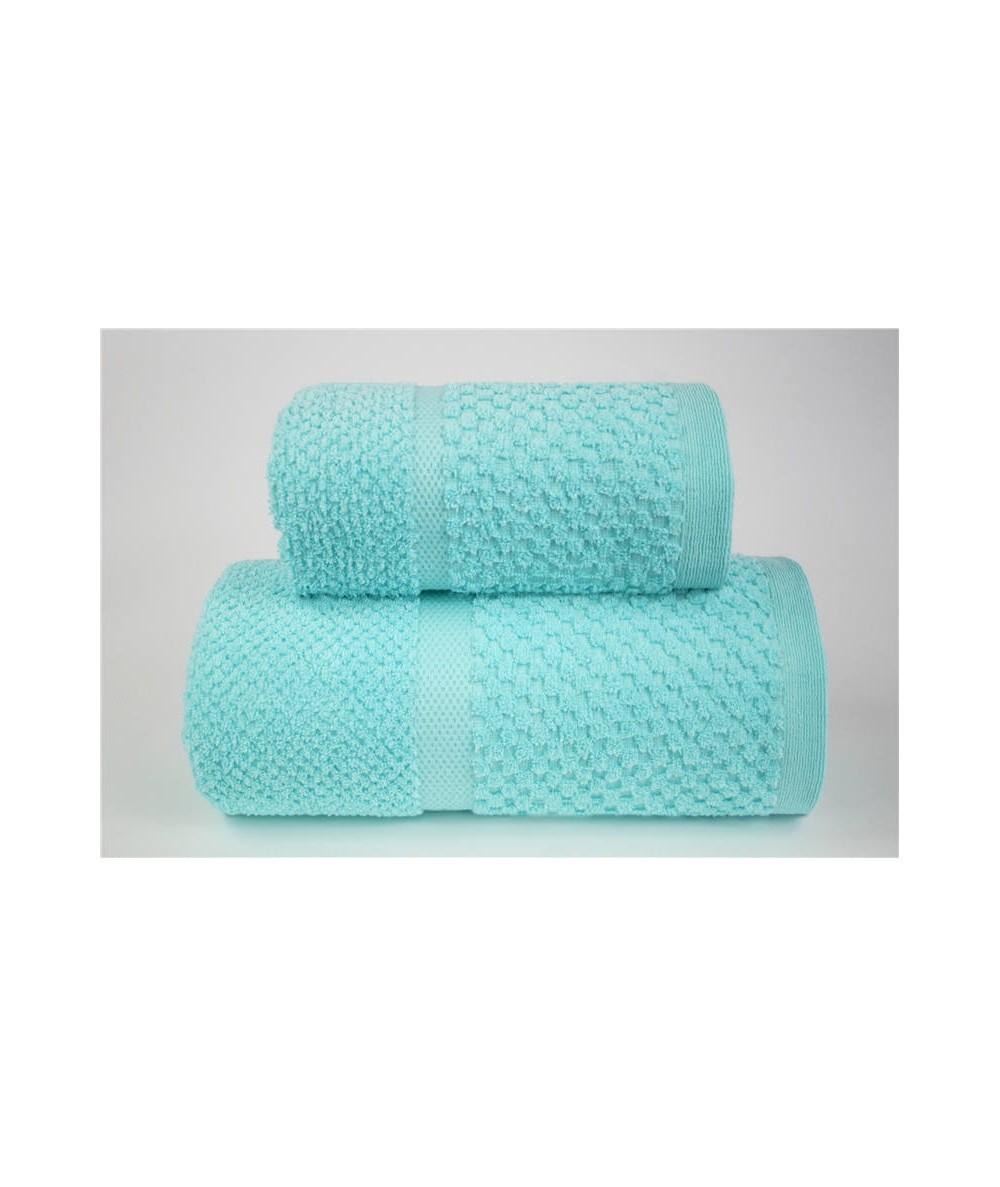 Ręcznik Summer Mess mikrobawełna 50x90 Aqua GRENO