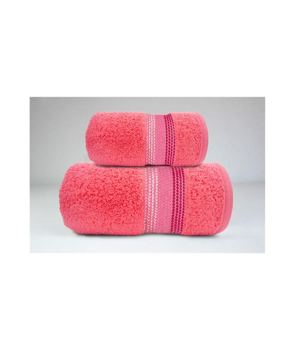 Ręcznik Ombre bawełna 50x90 Koral GRENO