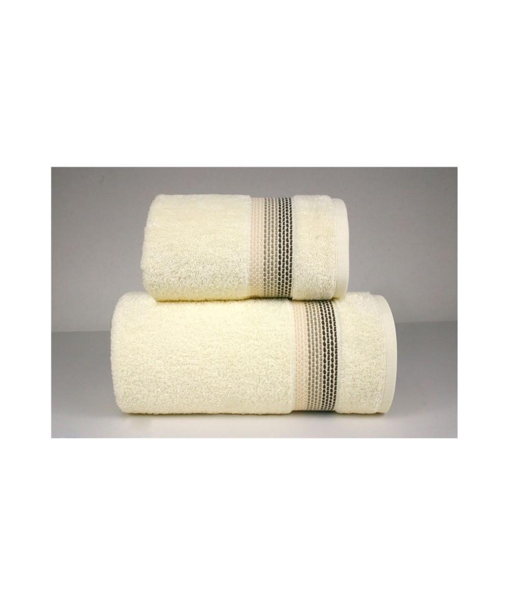 Ręcznik Ombre bawełna 50x90 Kremowy GRENO