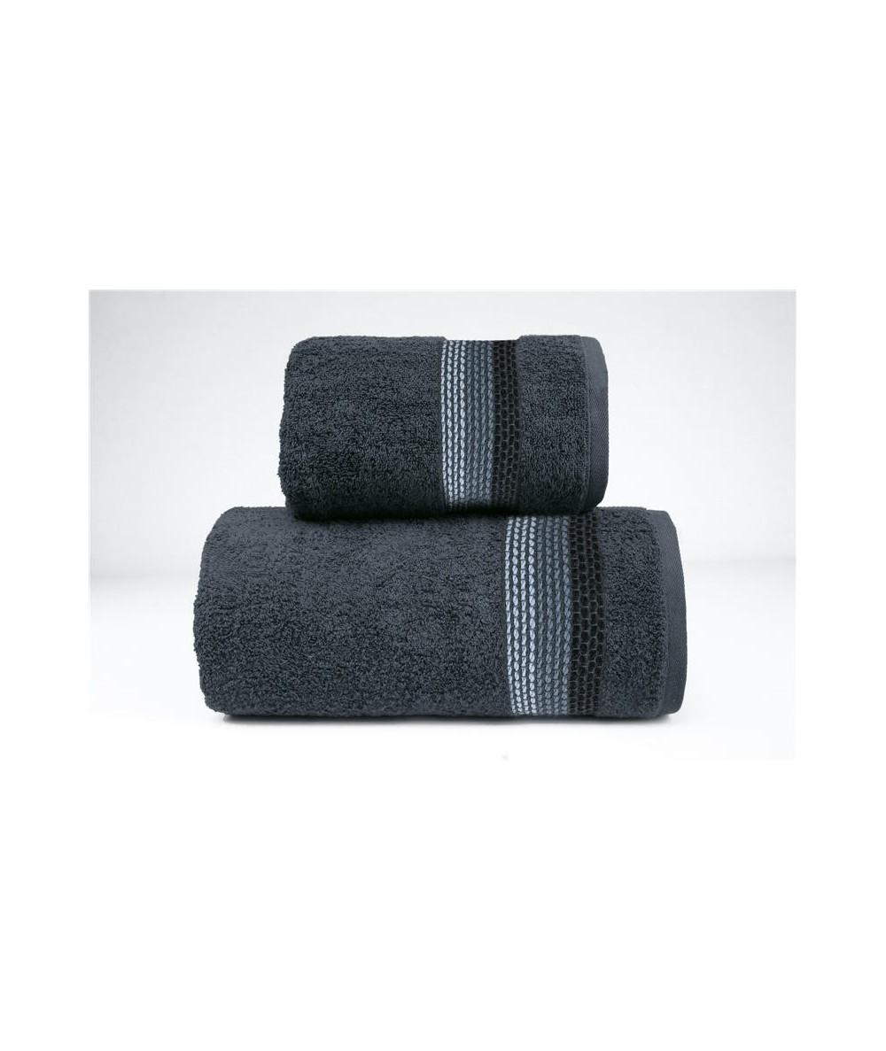 Ręcznik Ombre bawełna 50x90 Popielaty GRENO