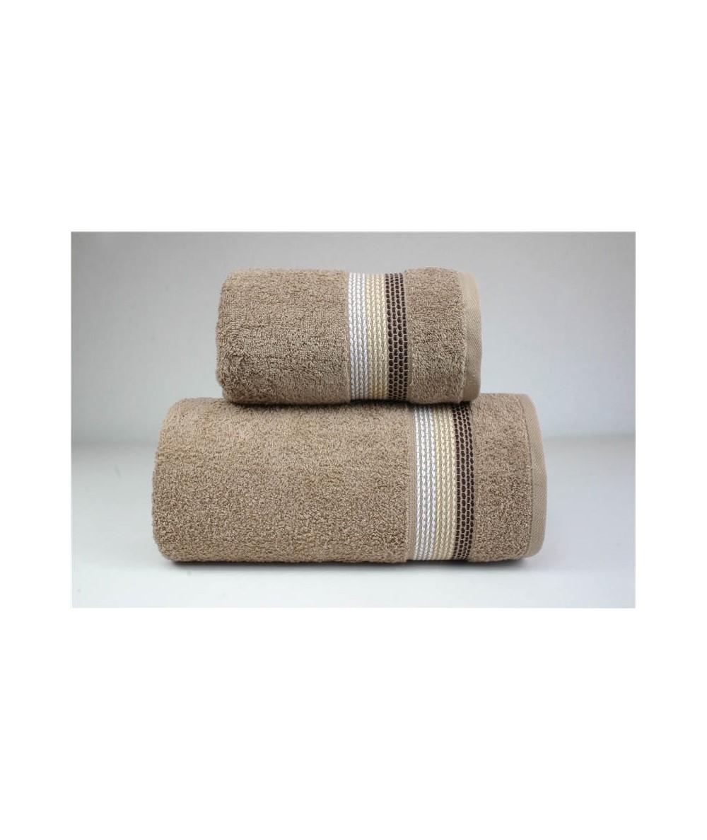 Ręcznik Ombre bawełna 50x90 Beżowy GRENO