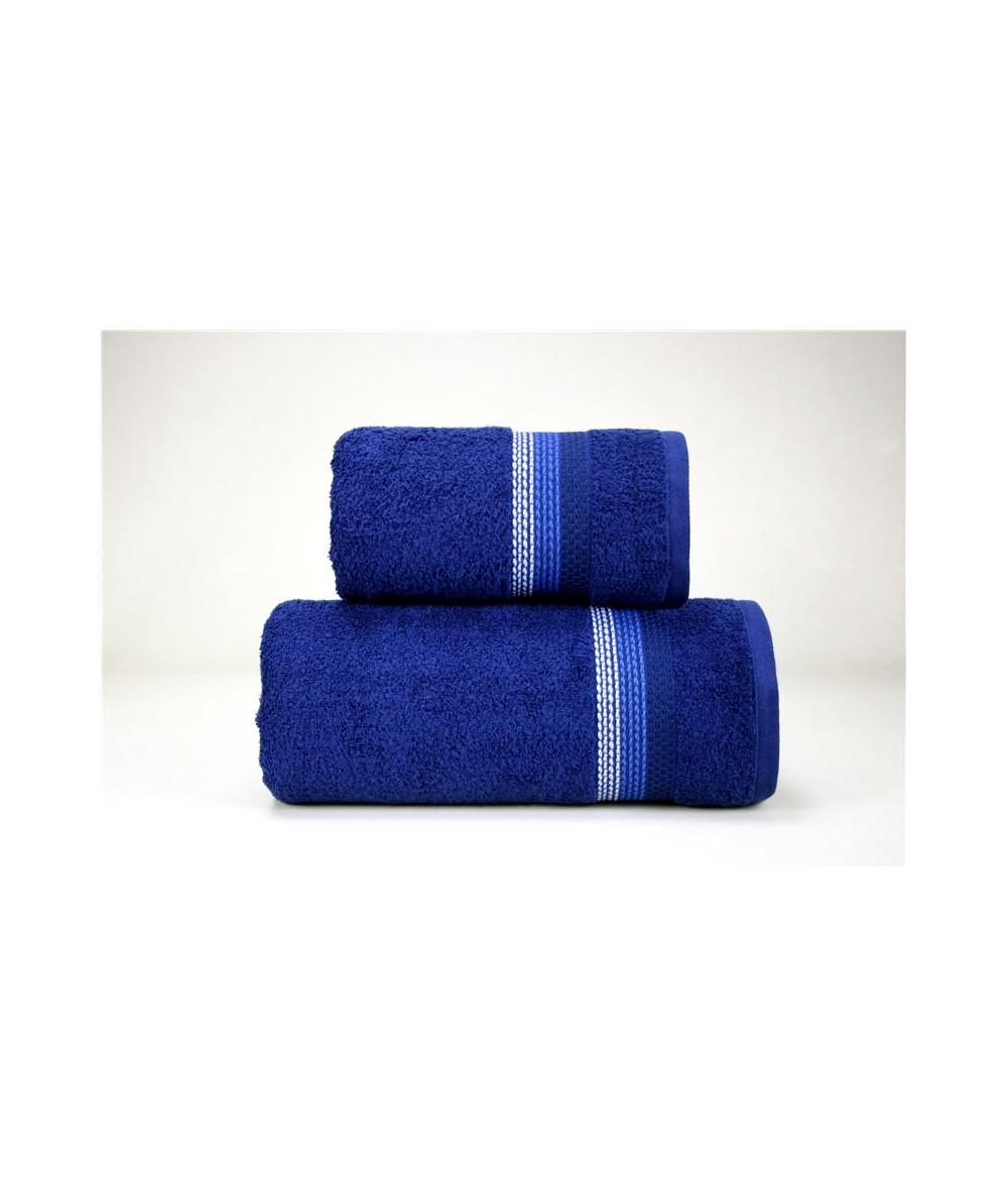 Ręcznik Ombre bawełna 70x140 Granatowy GRENO