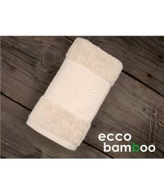 Ręcznik antybakteryjny  Ecco Bamboo bambus 50x90 Beż GRENO