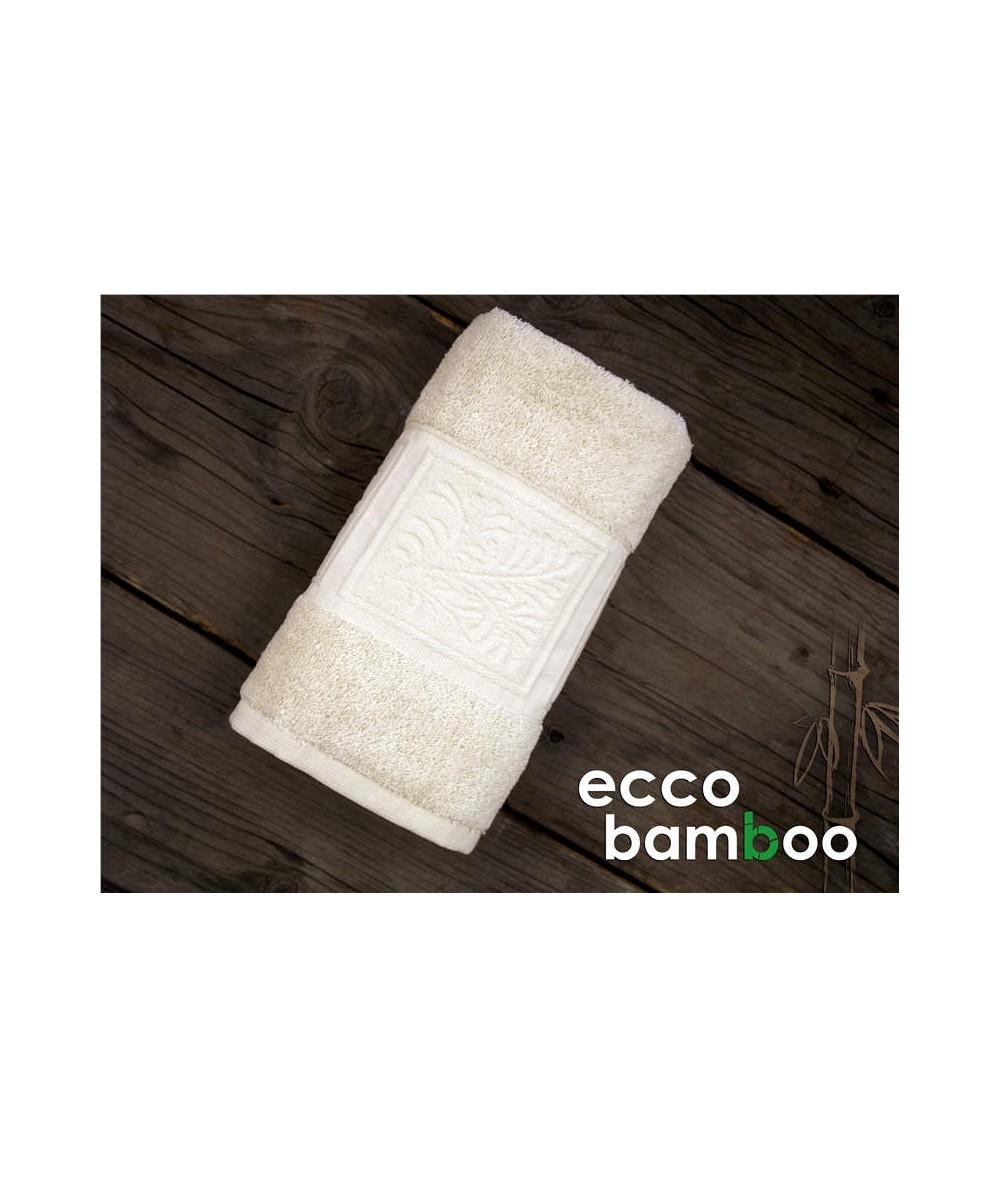 Ręcznik antybakteryjny  Ecco Bamboo bambus 70x140 Natur GRENO