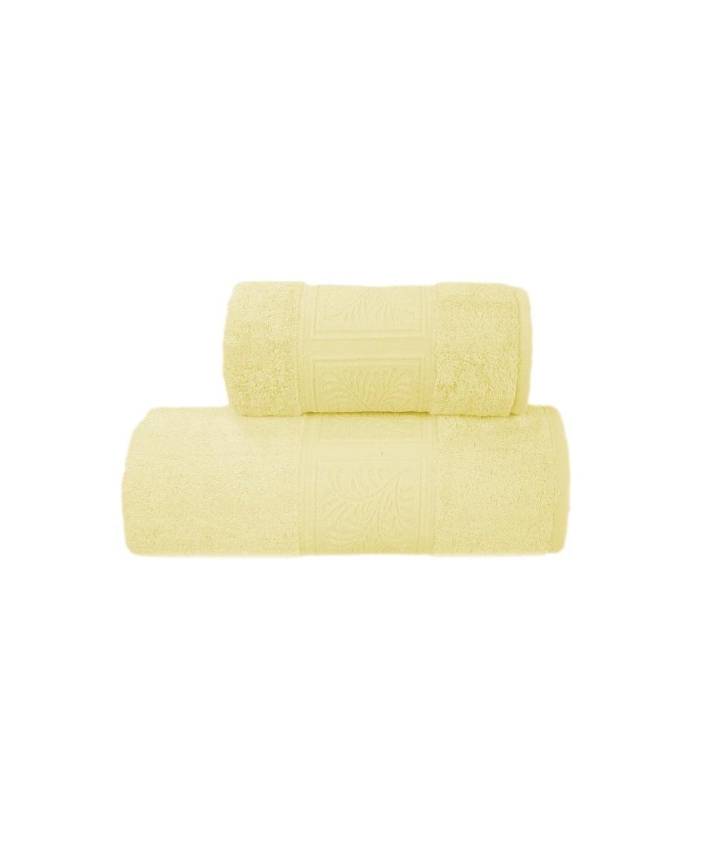 Ręcznik antybakteryjny  Ecco Bamboo bambus 70x140 Żółty GRENO