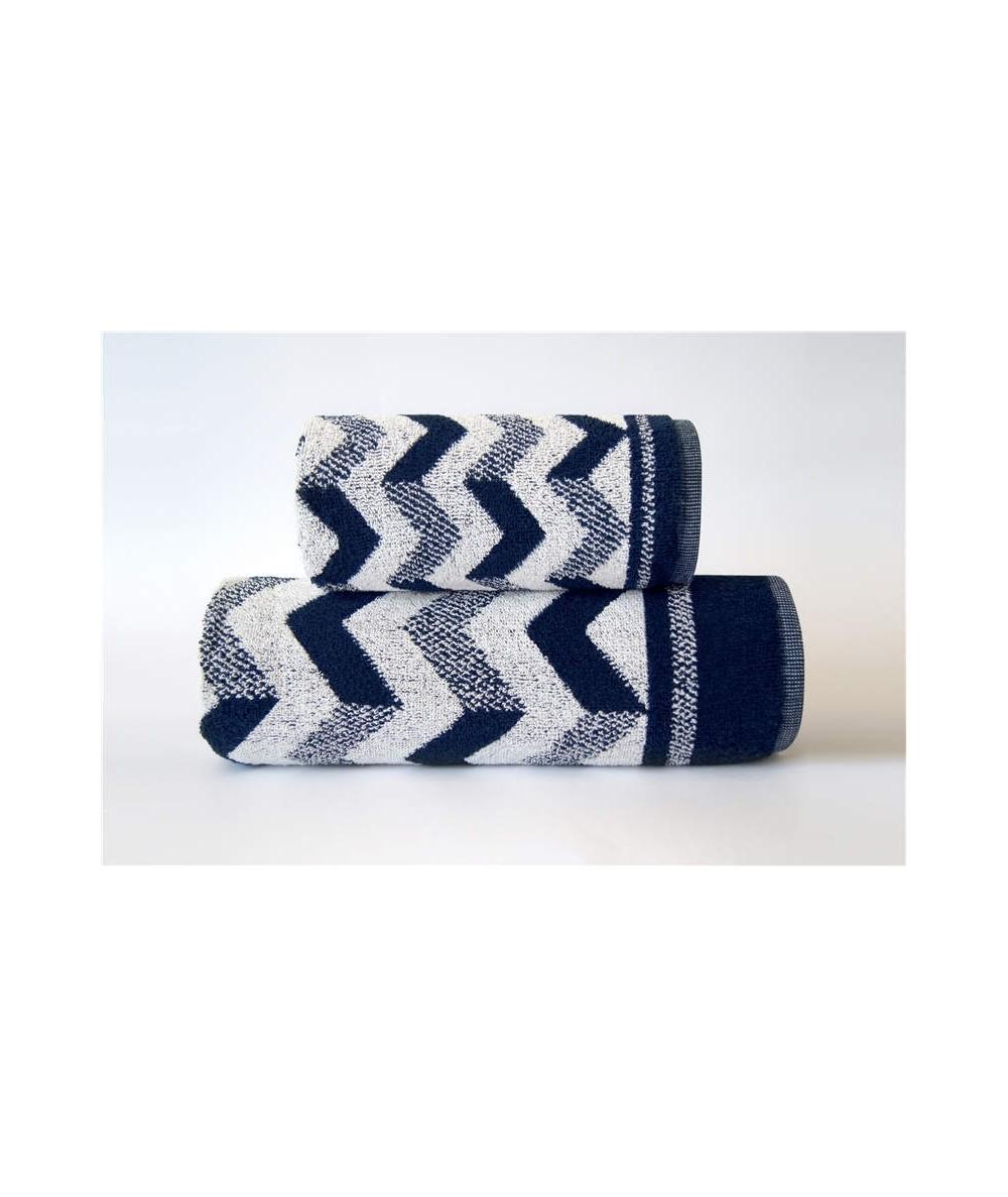 Ręcznik Harry bawełna 50x90 Granatowy GRENO
