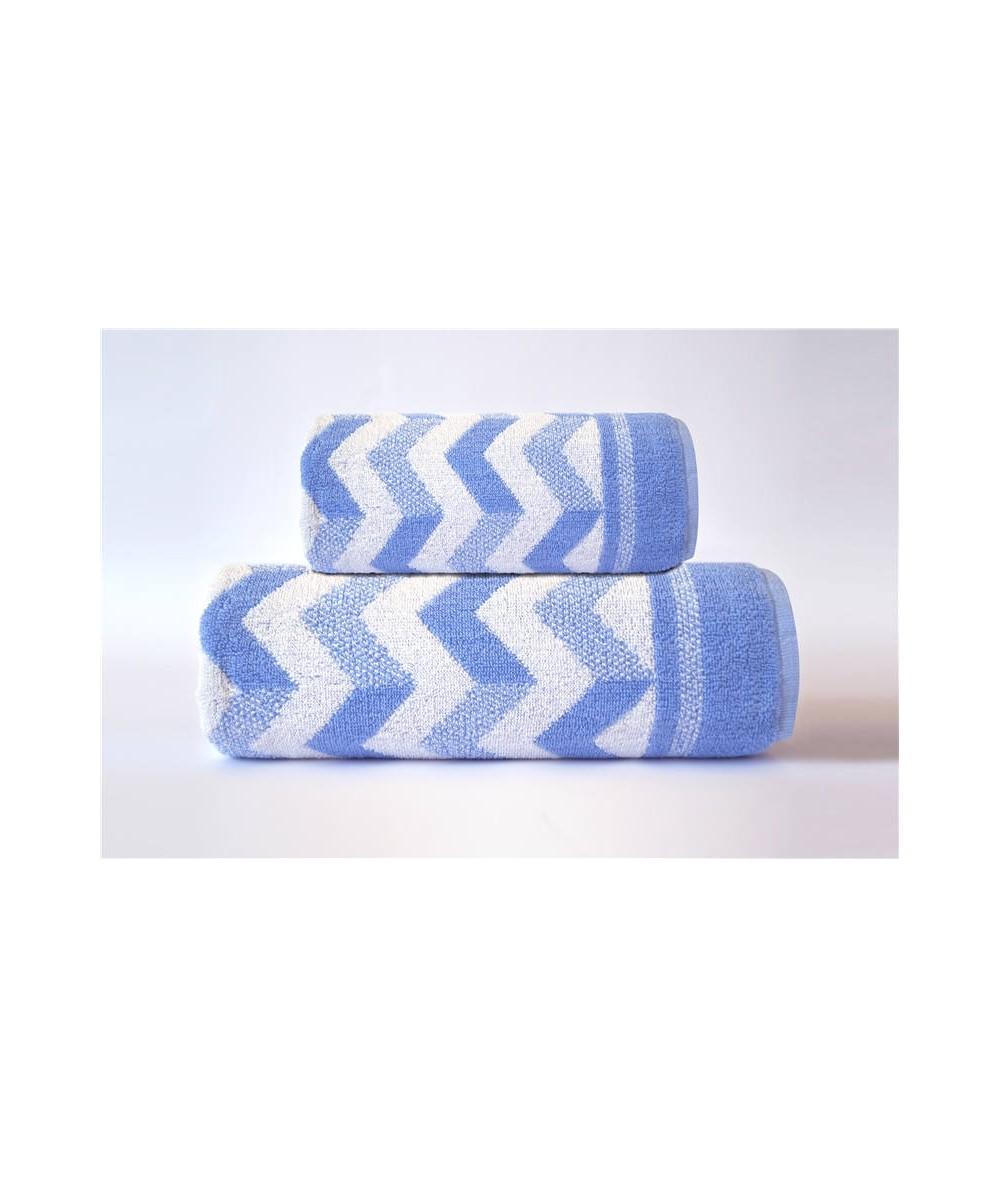Ręcznik Harry bawełna 50x90 Niebieski GRENO