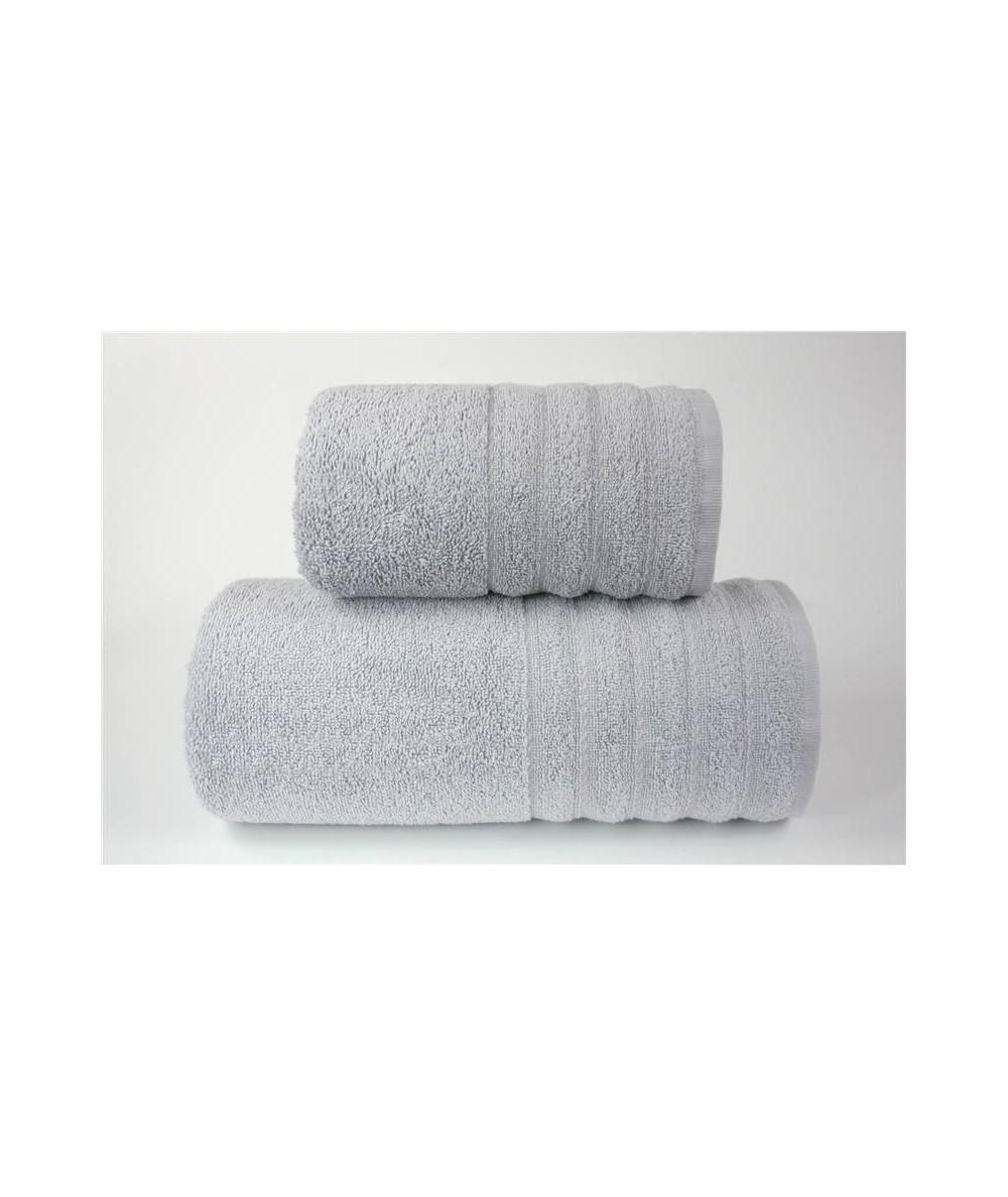 Ręcznik Alexa bawełna 50x90 Jasny Popiel GRENO