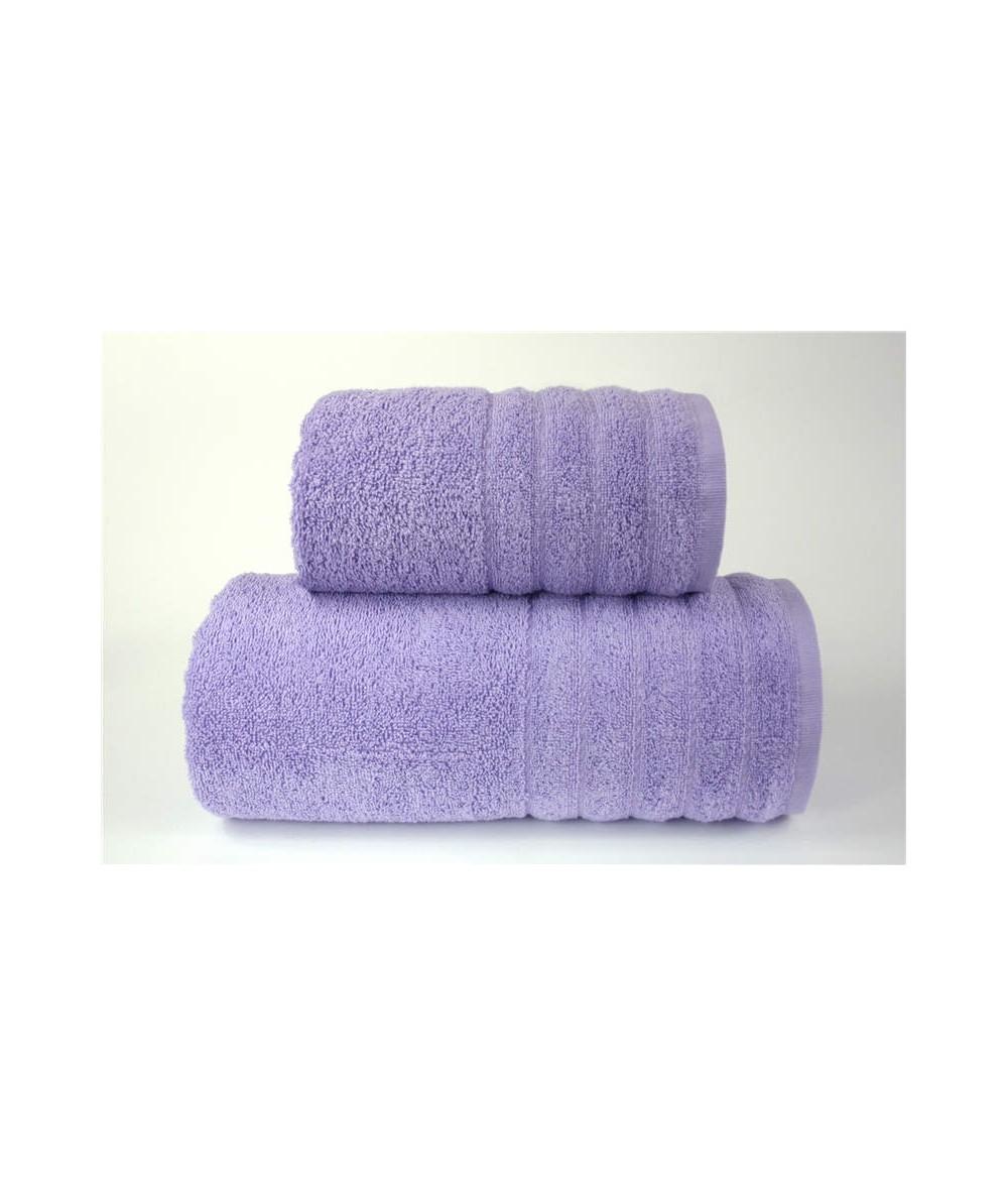 Ręcznik Alexa bawełna 70x140 Liliowy GRENO