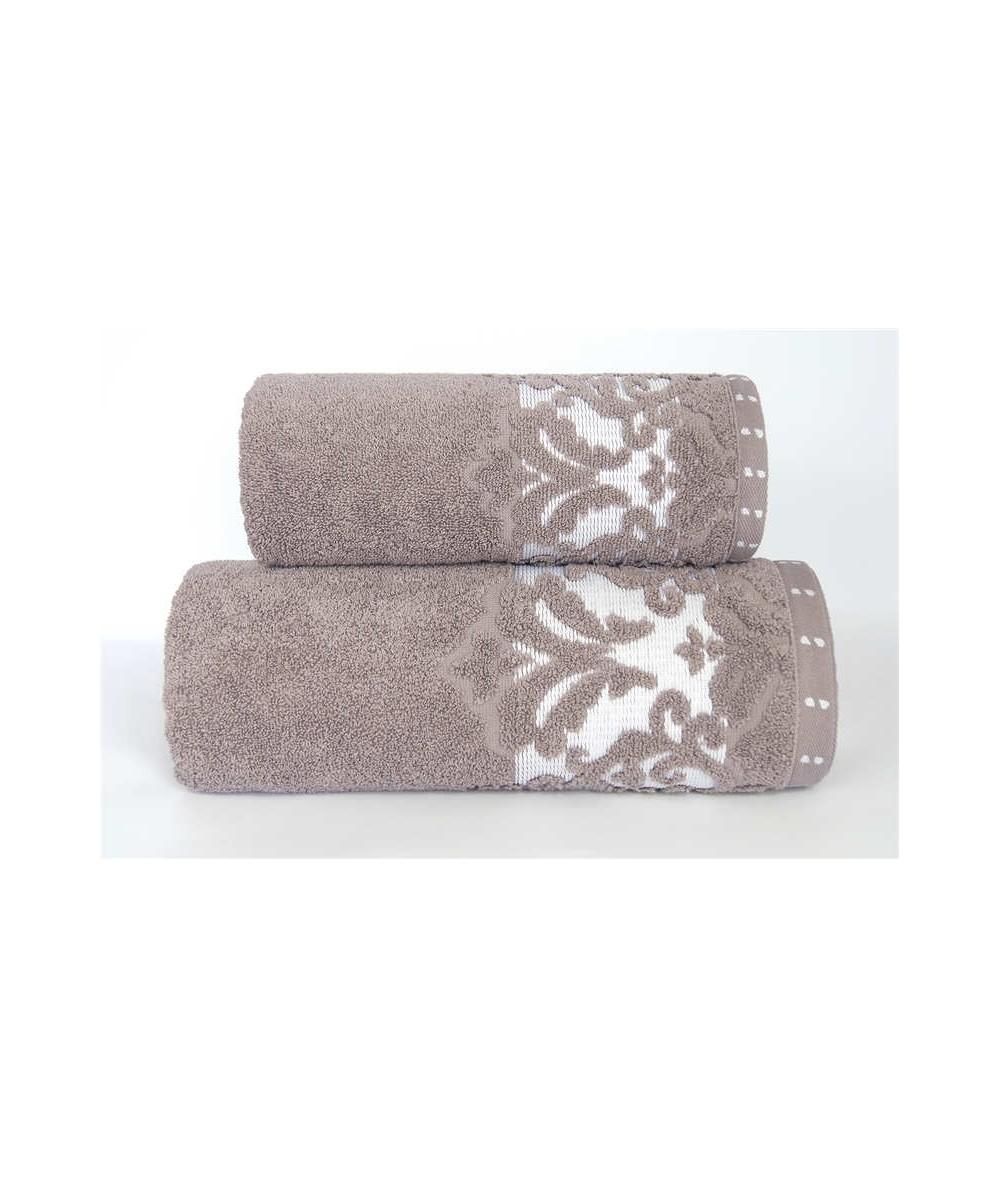 Ręcznik Venezia mikrobawełna 50x90 Cafe GRENO
