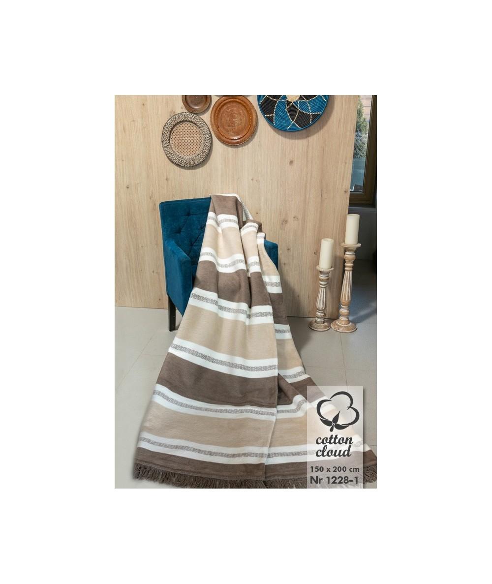 Polski koc bawełniany 150x200 Cotton Cloud Umipled 1228-1