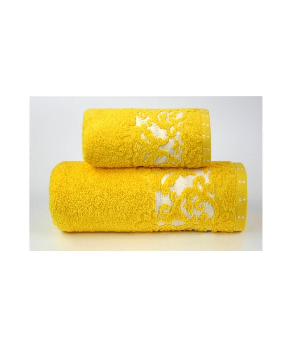 Ręcznik Venezia mikrobawełna 50x90 Żółty GRENO
