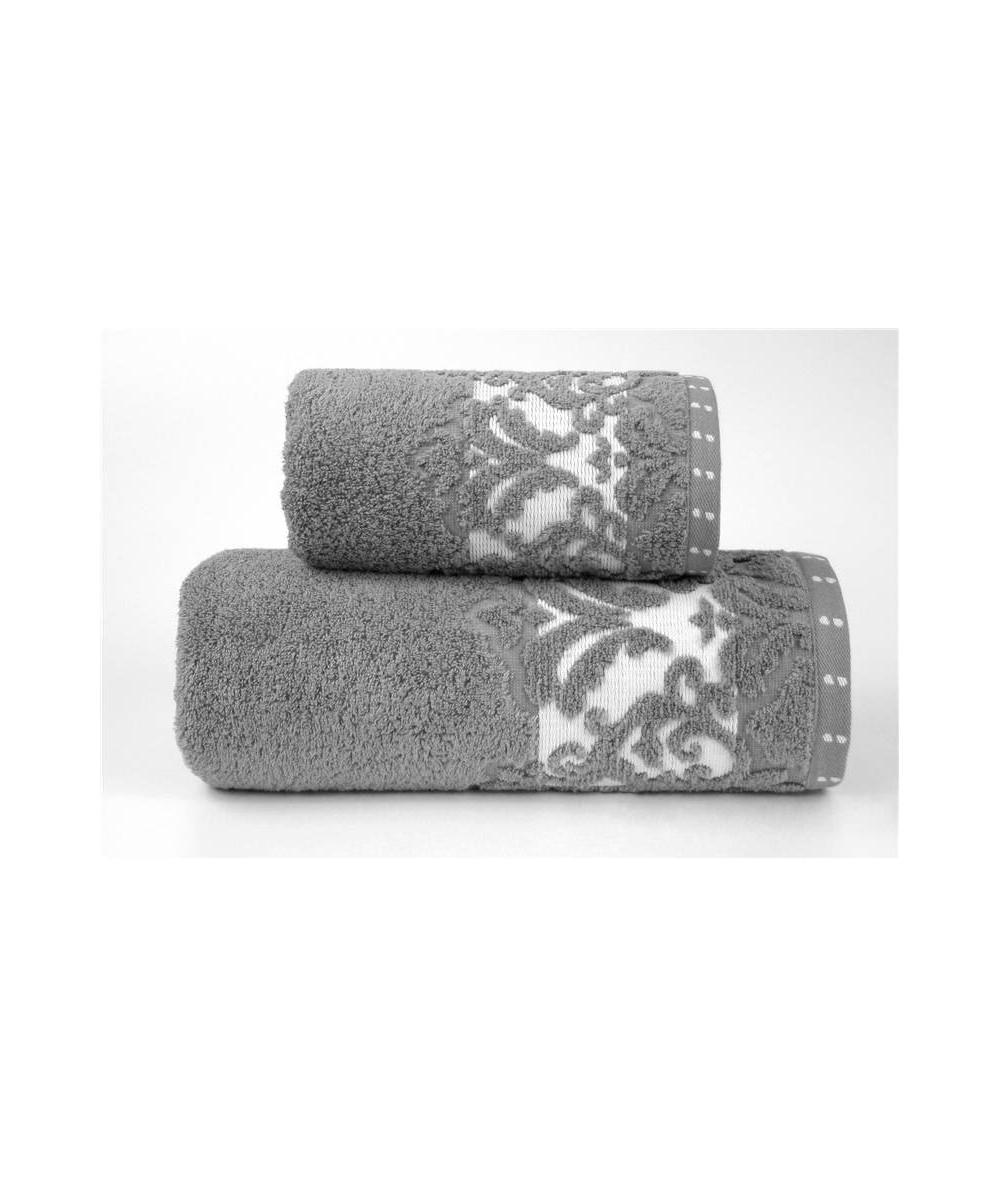 Ręcznik Venezia mikrobawełna 70x140 Popiel GRENO