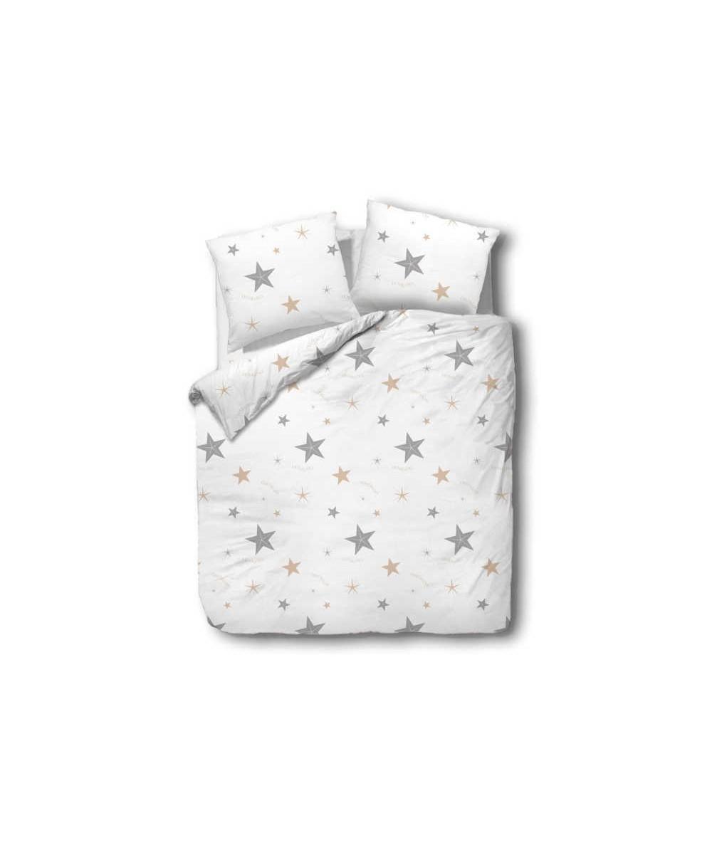 Pościel bawełna CottonLove 160x200 + 2x70x80 z zamkiem 71425-1