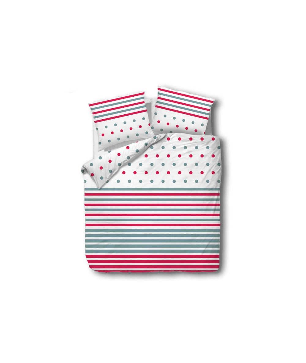 Pościel bawełna CottonLove 160x200 + 2x70x80 z zamkiem 71427-1