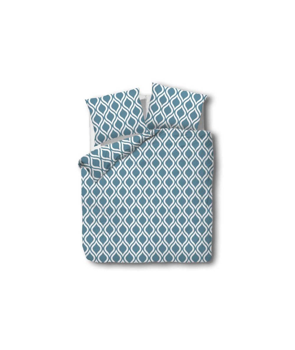 Pościel bawełna CottonLove 160x200 + 2x70x80 z zamkiem 71429-1