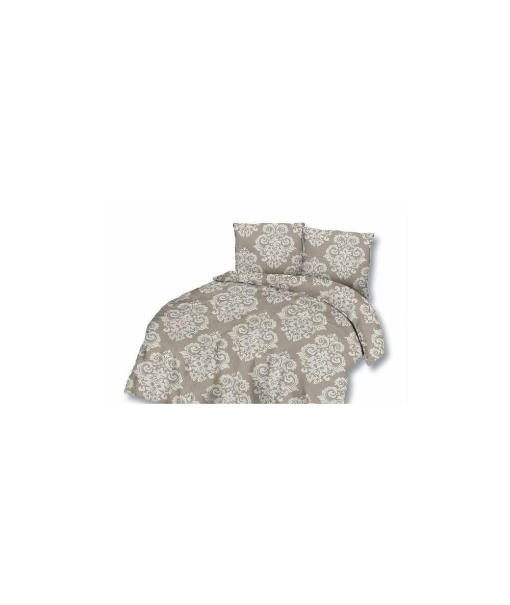 Pościel satyna bawełniana 180x200 + 2x70x80 z zamkiem 75-1