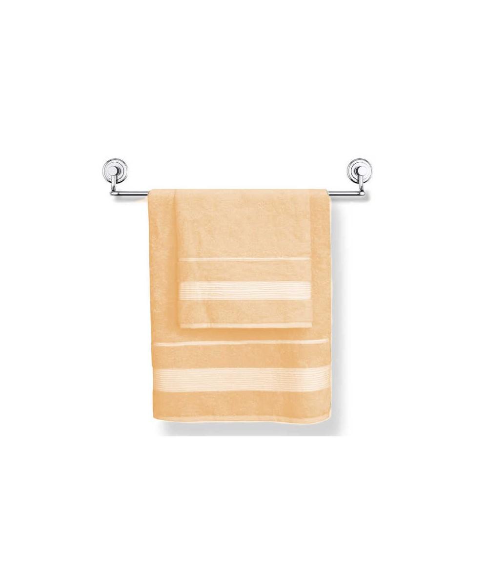 Ręcznik bambusowy Moreno 50x90 kpl 2szt brzoskwinia