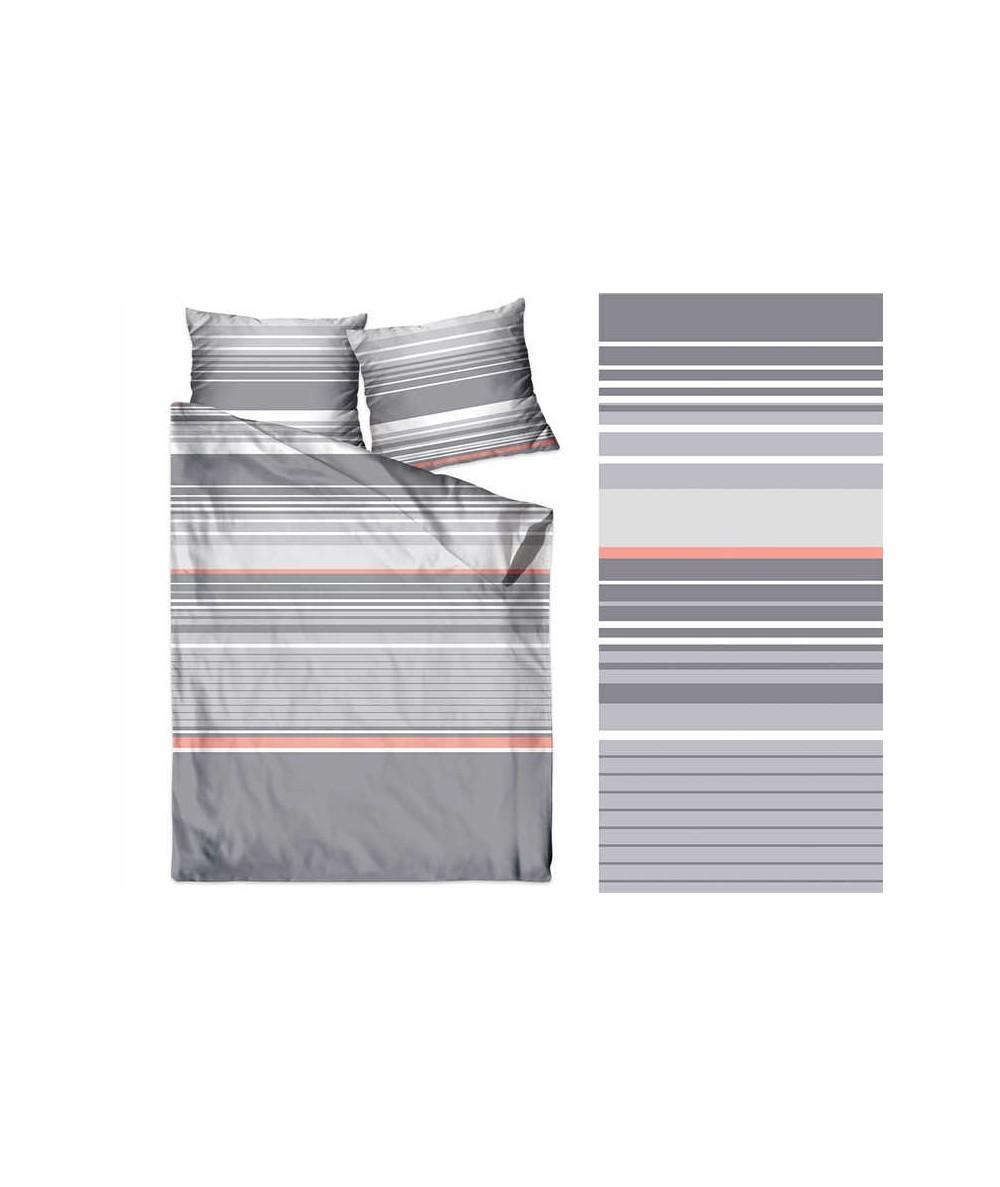 Pościel bawełna Bielbaw 200x220 + 2x70x80 z zamkiem Massimo