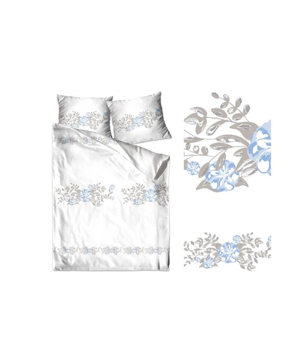 Pościel bawełna Bielbaw 200x220 + 2x70x80 z zamkiem Odette