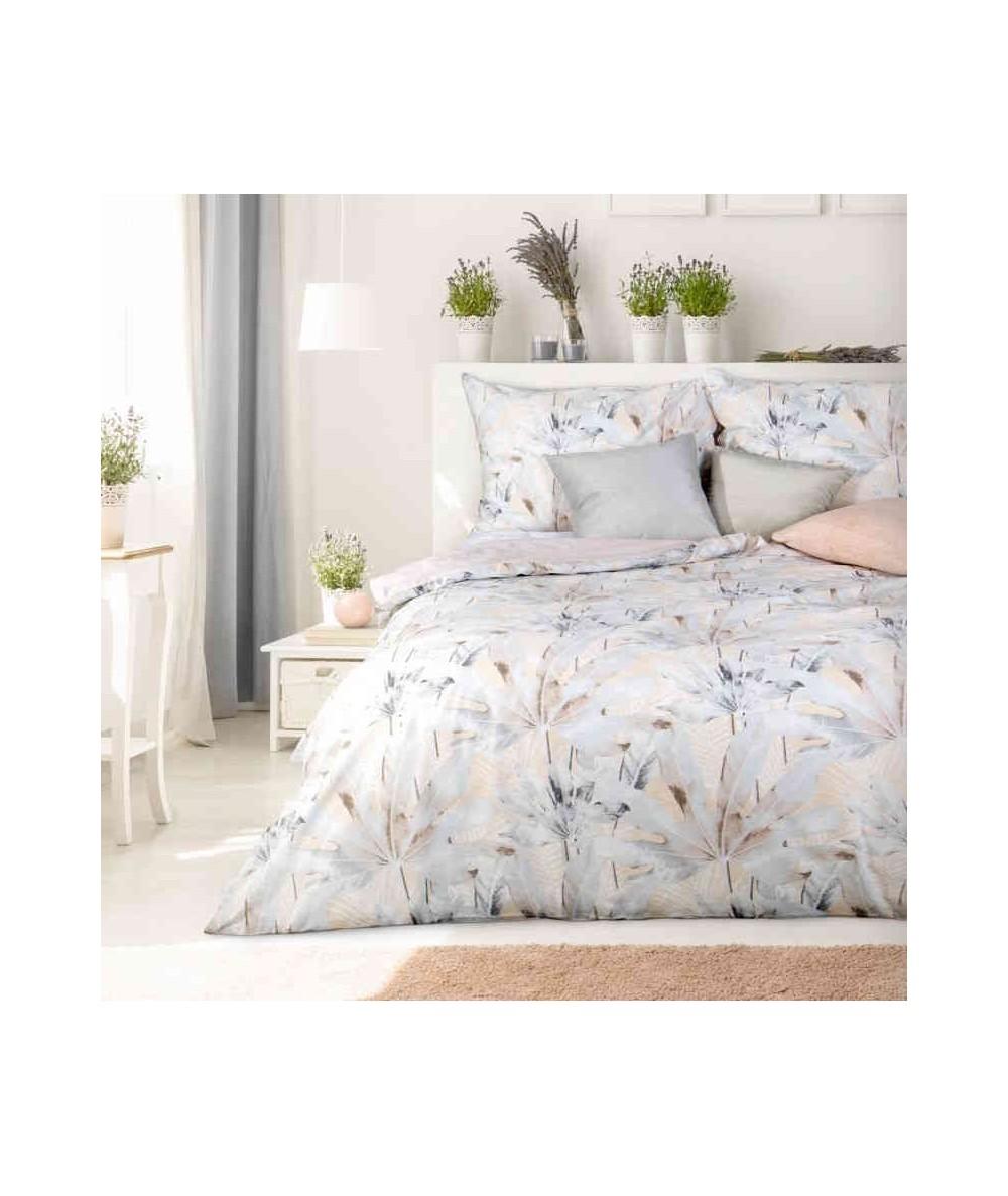 Pościel bawełna Evita 160x200 + 2x70x80 z zamkiem