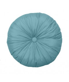 Poduszka okrągła Vege Home niebieska